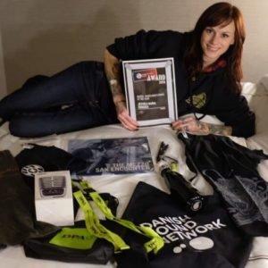 Truck driver Jessica wins industry award