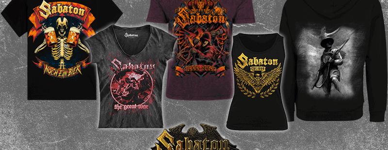 New Merchandise at the Sabaton Store